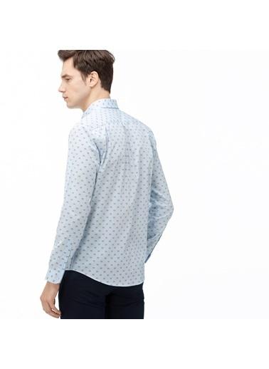 Lacoste Erkek Slim Fit Gömlek CH0020.20M Mavi